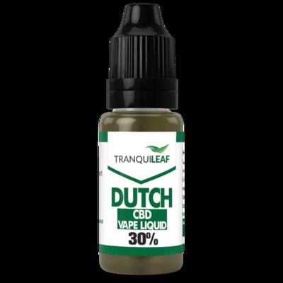 DUTCH CBD VAPE LIQUID 30%