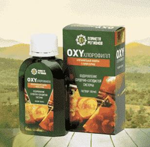 «OXYхлорофилл» хлорофилльный напиток с соком хурмы. Оздоровление сердечно-сосудистой системы. (раствор 100 млл)