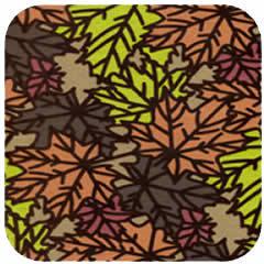 Pressed Leaf Copper