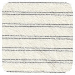 Ticking Stripe Pewter