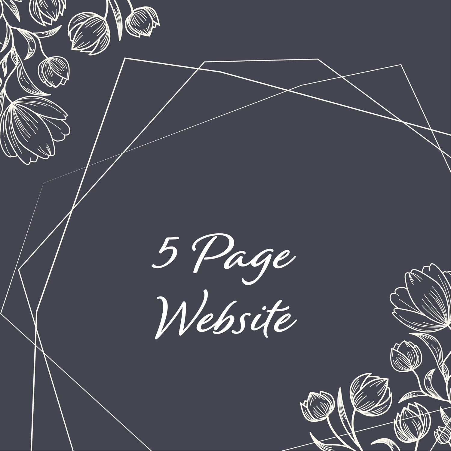 5 Page Website