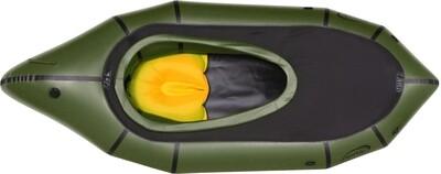 2021 - Nortik TrekRaft mit Verdeck grün/schwarz