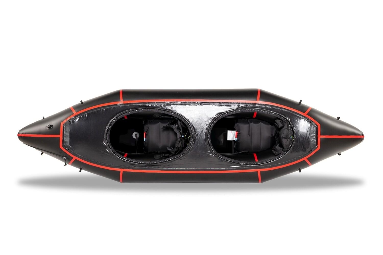 2021 - MRS Packraft Barracuda R2 Pro schwarz/rot