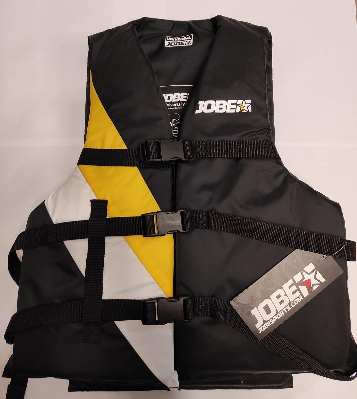 Universal-Schwimmhilfe Jobe schwarz/ gelb-weiß