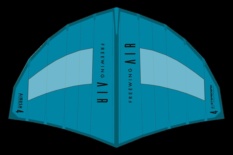 Starboard FreeWing V1 6,0 m² teal (türkisblau)