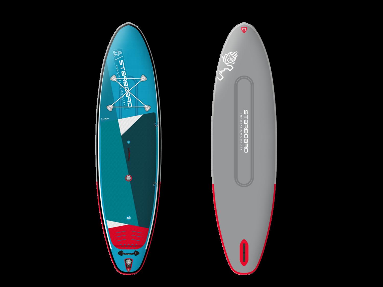 """2021 - Starboard iGo 10'8"""" x 33"""" x 6"""" ZEN DC im SET mit Paddel 4-tlg.!"""