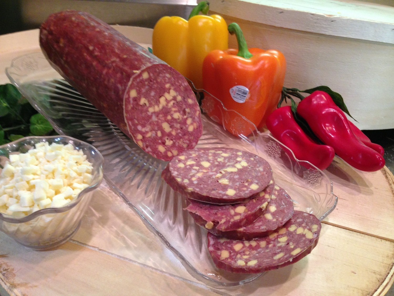 Venison Jalapeno Summer Sausage w/ Cheese