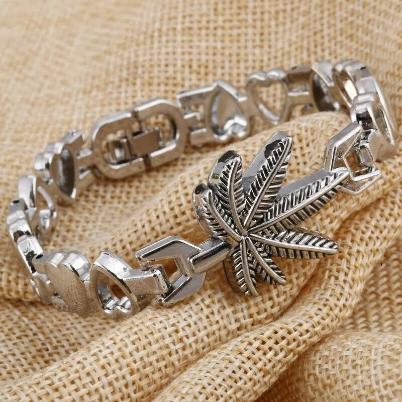 Women's Palm Leaf Bracelet