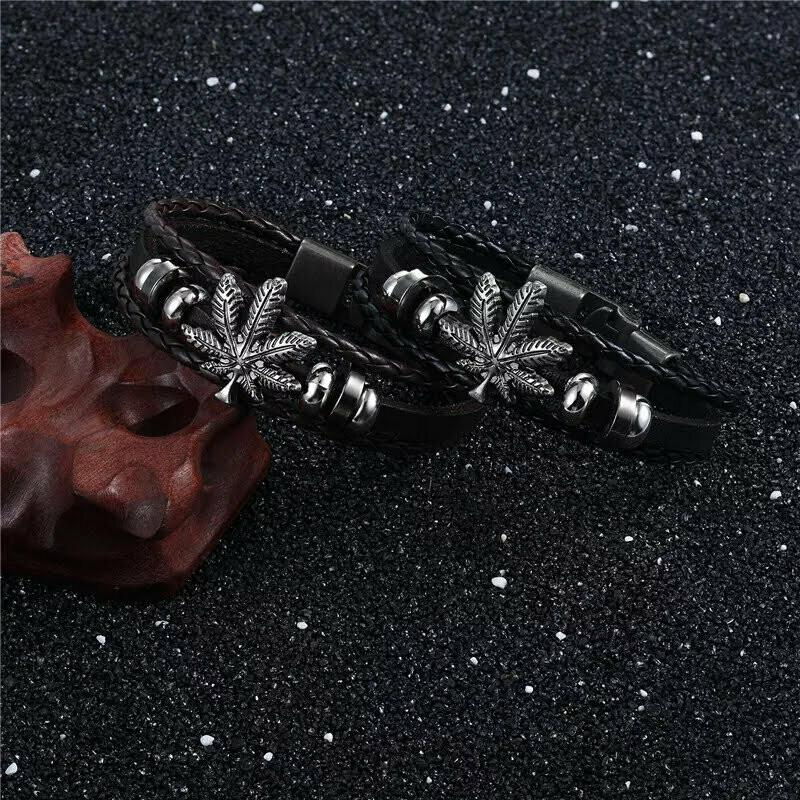 Men's Palm Leaf Bracelet