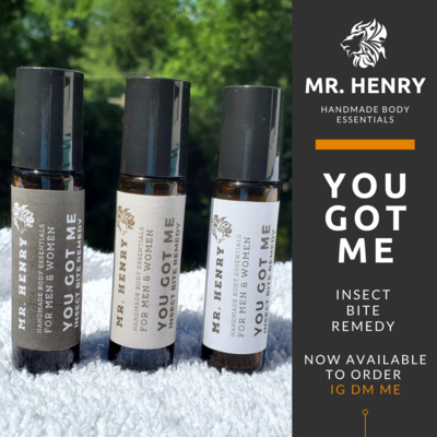 Mr. Henry You Got Me Insect Bite Remedy