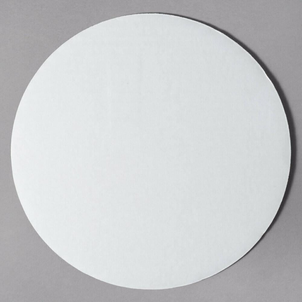 """10"""" White Cake Circle"""