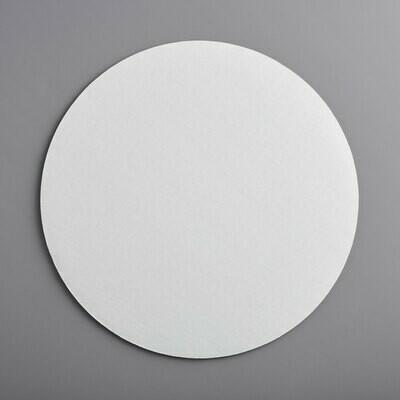 """14"""" White Cake Circle"""