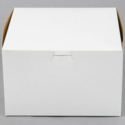 8 x 8 x 5 White Cake Box