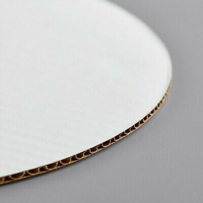 """12"""" White Cake Circle"""
