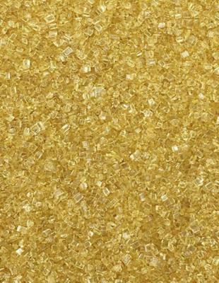 Gold Sugar Crystals - 3 oz