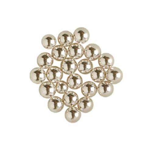 Silver Sugar Pearls- 4 mm - 4 oz