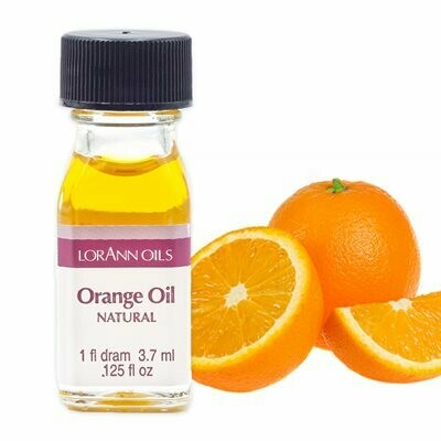 Natural Orange Oil - 1 Dram