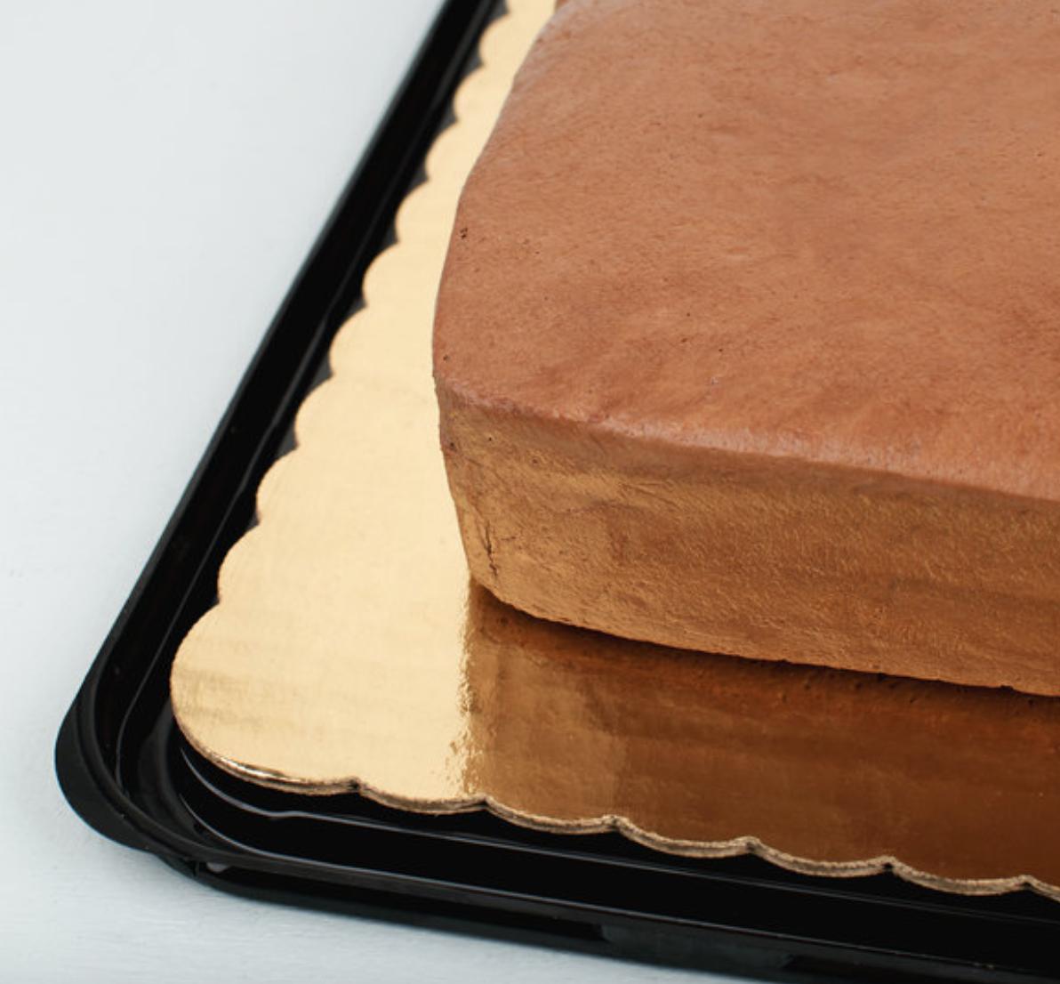 18 3/4 x 13 3/4 Gold Sheet Cake