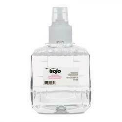 Gojo 191102Ct Foam Handwash Ltx Refill, 1200Ml, 2/Ct,Clear/Mild