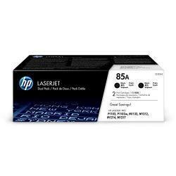 HP 85A (CE285A) Black Toner Cartridge, 2 Toner Cartridges (CE285D) For HP Laserjet Pro M1212Nf M1217Nfw P1102W P1109W
