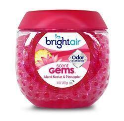 Bright Air Bright Odor Eliminator Island Nectar Air Freshener, Pink