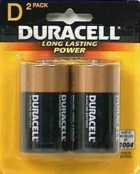 Duracell Coppertop D Alkaline Batteries 2 Each (Pack Of 18)