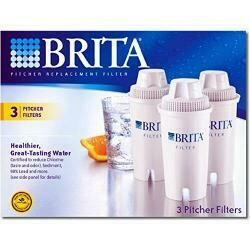 Clorox Sales Co Brita Div 35503 3-Pack Replacement Filters - Quantity 8