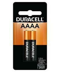 Duracell Aaaa Alkaline Batteries 1.5-Mfg# Mx2500B2Pk - Sold As 12 Units