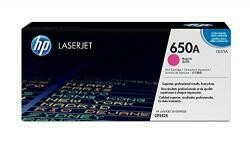 HP 650A (CE273A) Magenta Toner Cartridge For HP Color Laserjet Enterprise Cp5525 M750