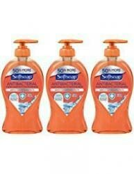 Softsoap Antibacterial Hand Soap With Moisturizers - Crisp Clean - Net Wt. 11.25 Fl Oz (332 Ml) Per Bottle - Pack Of 3 Bottles