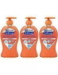 Softsoap Antibacterial Hand Soap With Moisturizers - Crisp Clean - Net Wt. 11.25 Fl Oz (332 Ml) Per Bottle - Pack Of 3 Bottles