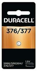 Duracell Watch And Electronic Battery 1.5 V Model No. 377 Carded (Pack Of 2)