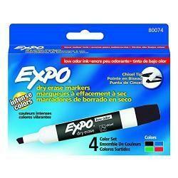 Sanford L.P. Marker Expo 2 Dry Erase 4 Color (Set Of 12)