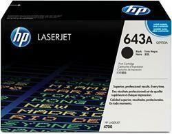 HP 643A (Q5950A) Black Toner Cartridge For HP Laserjet 4700