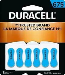 Duracell 433 Dura6Pk 675Hear Battery