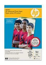 HP Advanced Photo Paper - 4 X 6 - Glossy - 100 Sheet