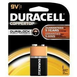 Duracell Batteries/9Volt - Size Battery