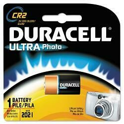 Duracell Ultra High Power Lithium Battery, Cr2, 3V - Sold As 1 Each