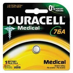 Duracell 76A Medical Battery