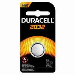 Duracell Duralock Dl 2032 225Mah 3V Lithium Coin Cell Battery [Set Of 6] Or Sold As 6/Bx