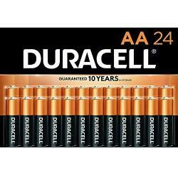Duracell Coppertop Aa Alkaline Batteries - Long Lasting, All-Purpose Double A Battery For Household And Business - 24 Count