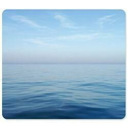 Fellowes Recycled Mouse Pad - Blue Ocean - Taa Compliant - 8.0 X 9.0 X 0.1 - Blue - Green Seal C