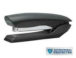 Bostitch Premium Antimicrobial Stand-Up Stapler, 20-Sheet Capacity, Black