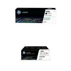 Hp 410A Hp Black And Hp 410A Hp Cyan/Magenta/Yellow Toner Cartridge Bundle (Cf410A, Cf411A, Cf412A, Cf413A) For Hp Color Laserjet Pro M452, M377, M477