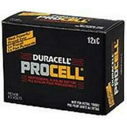 Nib 6/Pack Duracell Procell Pc1400 Procell C-Cell Battery Auth Dealer