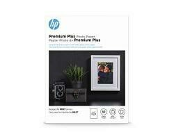 HP Premium Plus Photo Paper | Glossy | 5X7 | 60 Sheets