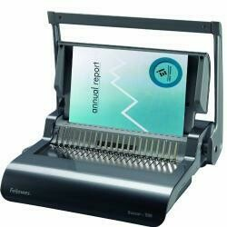 Fellowes Binding Machine Quasar+ Comb Binding (5227201),Metallic Blue
