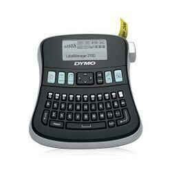 Dymo Desktop Label Maker | Labelmanager 210D All-Purpose Portable Label Maker, Easy-To-Use, One-Touch Smart Keys, Qwerty Keyboard, Large Display, For Home & Office Organization