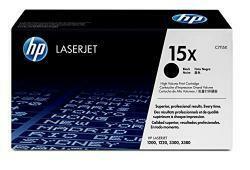 HP 15X (C7115X) Black High Yield Original Laserjet Toner Cartridge
