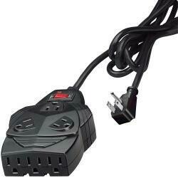 Fellowes Mighty 8 Surge Protector With 8-Outlets, Phone Protection, 6 Foot Cord, 1,460 Joules (99090)